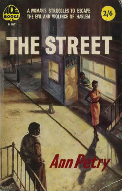 the street ann petry Ann petry, the street, 1946 what implications are conveyed by the novel's title  what seem symbolic elements of the opening scene what is.